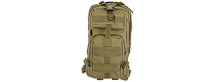 AC-165T 3P TACTICAL BACKPACK (COLOR: TAN)