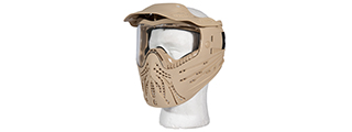 AC-175T FULL FACE PROTECTION MASK (TAN)