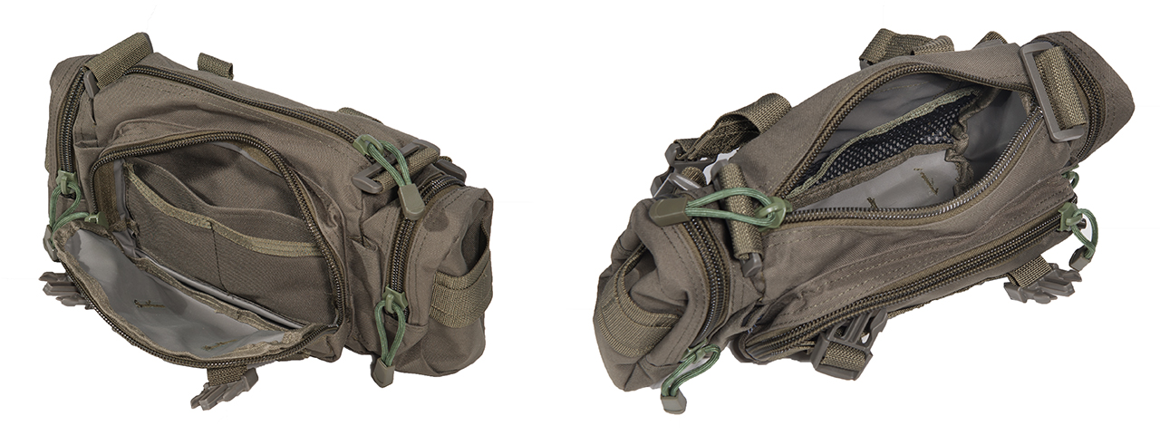 AC-180G TACTICAL BUTTPACK (COLOR: OD GREEN)
