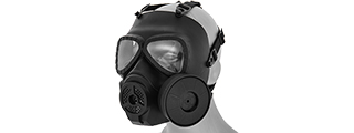 AC-191B DUMMY ANTI-FOG GAS MASK (BLACK)