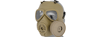 AC-191T DUMMY ANTI-FOG GAS MASK (TAN)