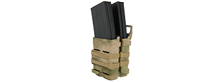 AC-213F QUICK DOUBLE M4 MAG POUCH - ATFG