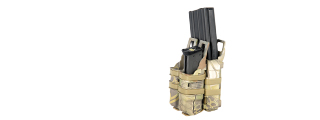 AC-214M Quick Single Rifle/Double Pistol Pouch - MDR