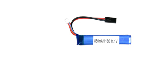 AC-219A LiPO 11.1V 850mAH 15C Buffer Tube Battery