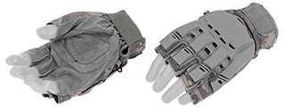 AC-225XL Paintball Glove Half Finger (ACU) - Size XL