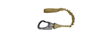 AMA NYLON TACTICAL ADJUSTABLE NAVY SEAL SAVE SLING - KHAKI