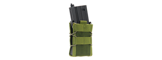 AMA AIRSOFT SINGLE M4/M16 TACO POUCH - OLIVE DRAB GREEN