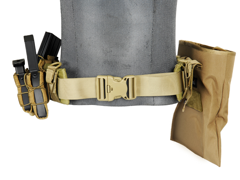 AC-236KM MOLLE BATTLE BELT (COLOR: KHAKI) SIZE: MEDIUM