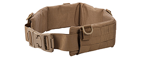AC-236TM MOLLE BATTLE BELT (COLOR: COYOTE BROWN) SIZE: MEDIUM