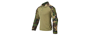 AC-239MD GEN3 COMBAT SHIRT (WOODLAND CAMO) SIZE: MEDIUM