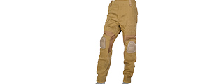 AC-241LG GEN2 TACTICAL PANTS W/ KNEEPADS (COYOTE BROWN) - LARGE