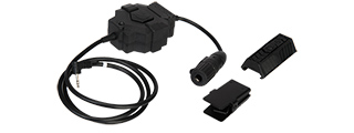 AC-255A Z-TACTICAL PTT (MOTOROLA 1-PIN VERSION) ADAPTER FOR RADIO & HEADSET