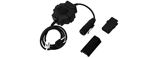 AC-255D Z-TACTICAL PTT (ICOM VERSION) ADAPTER FOR RADIO & HEADSET