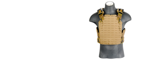 AC-261T Plate Cut Plate Carrier, Coyote Brown