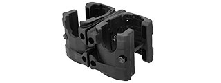 AC-276B MP7 Double Magazine Clip, Black