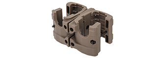 AC-276T MP7 Double Magazine Clip, Dark Earth
