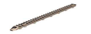 "AC-296T FULL LENGTH RAIL PANEL FOR XRU-4 13"" AND 14.5"" (DARK EARTH)"