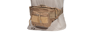 AC-297T TACTICAL HIP-PACK (COLOR: TAN)