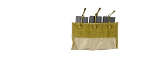 AC-308 Triple Magazine Pouch For 6094 Plate Carrier, Khaki