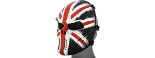 AC-319E VILLAIN SKULL MESH FACE MASK (UK)