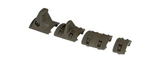 UK ARMS TACTICAL BDM HAND STOP KIT - OD GREEN