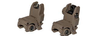 AC-350T2 ACM NBUS GEN 2 BACK-UP SIGHT SET (COLOR: DARK EARTH)
