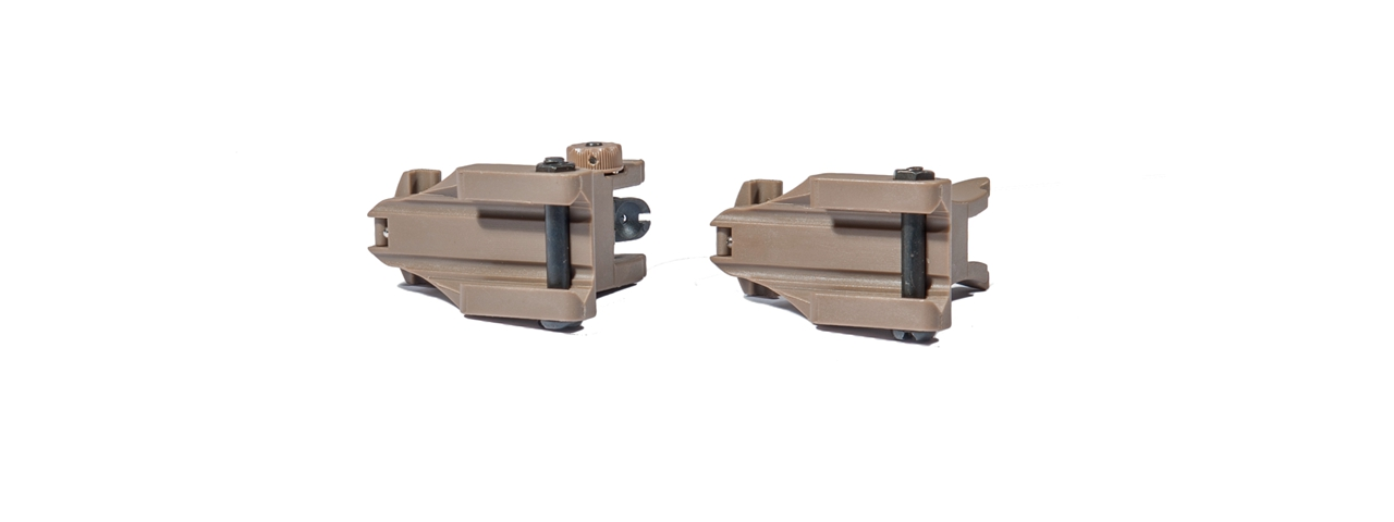 AC-351T ACM NBUS GEN 1 BACK-UP SIGHT SET (COLOR: DARK EARTH)