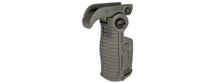 AB163 FOLDABLE GRIP FOR RAIL (COLOR: FOLIAGE GREEN)