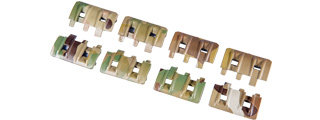 AC-358C ACM FTM RAIL PANEL 8 PC SET (COLOR: CAMO)
