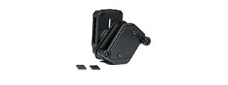 AC-359B MULTI-ANGLE SPEED MAGAZINE POUCH (COLOR: BLACK)