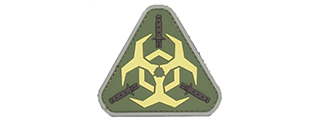AC-392B OUTBREAK RESPONSE PVC PATCH (COLOR: OD GREEN & NEON)