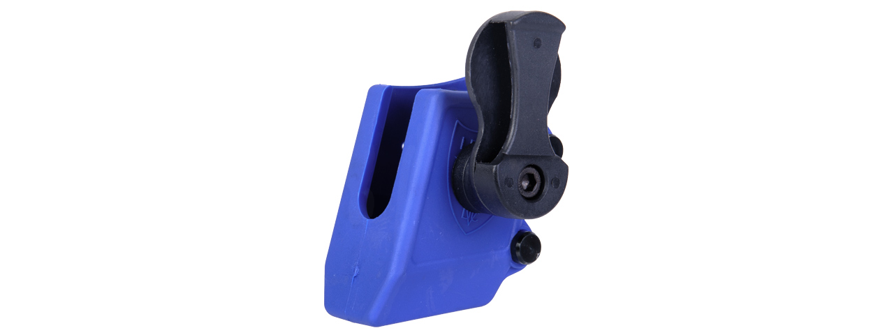 AC-397U COMPETITION QUICK SHOOTER PISTOL MAGAZINE POUCH (COLOR: BLUE)