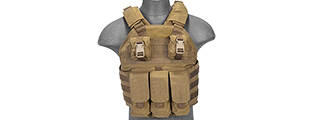 AC-464T SCALABLE PLATE CARRIER (TAN)