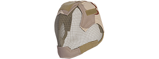 AC-472E V6 STRIKE MESH MASK HELMET (3 COLOR DESERT)