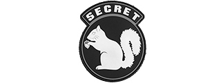 "AC-485A ""SECRET SQUIRREL"" PVC PATCH"