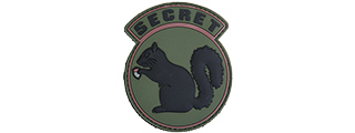 "AC-485B ""SECRET SQUIRREL"" PVC PATCH"