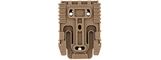 AC-511T QUICK LOCKING SYSTEM (TAN) FOR HOLSTER
