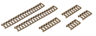 AC-514T LADDER RAIL PANEL (DARK EARTH) - SET OF 6