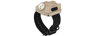 AC-523T USB CHARGE WRIST LIGHT 240 LUMENS L.E.D. (DE)