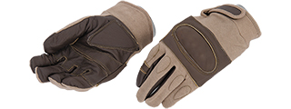 AC-802L Hard Knuckle Glove (Tan) - Size L