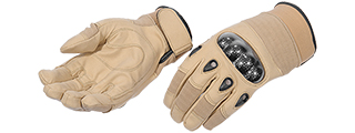 AC-807M Tactical Assault Gloves (Coyote Tan) - Medium