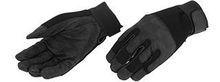 AC-808L ARMY GLOVES (BLACK) - LARGE