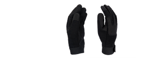AC-808XL Army Gloves, Black - X-Large