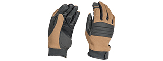 AC-812L OPS TACTICAL GLOVES (COLOR: TAN) SIZE: LARGE
