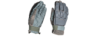 AC-814L PAINTBALL GLOVES FULL FINGER (COLOR: ACU) SIZE: LARGE