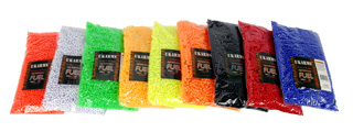 UKARMS BB10000(BAG)MIX 0.12g 6mm BBs, 10000 Rounds per Polybag, Mixed Colors per Case