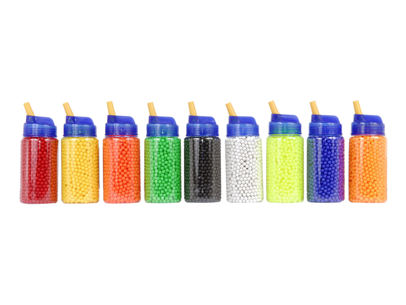 UKARMS BB2000(BOTTLE)U 0.12g 6mm BBs, 2000 Rounds per Bottle, Single Color per Case