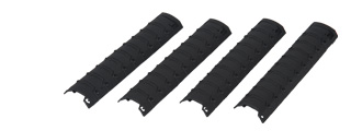 Dboys BI-08BLACK Rail Covers in Black - set of 4