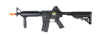 Dboys BI-3981M M4 CQB RIS Auto Electric Gun Metal Gear, Full Metal Body, Retractable Crane Stock