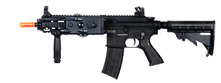 Dboys BI-8001M MK416 AEG Metal Gear, Full Metal Body, Vertical Foregrip, PEQ Box, Retractable LE Stock